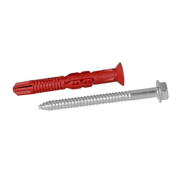 Dübel mit Schraube 14x110 mm Für Rammschutzpoller