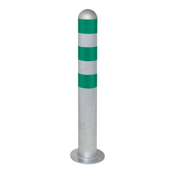CITY Schutzpoller Ø 108 mm aus Stahl mit Reflexringe