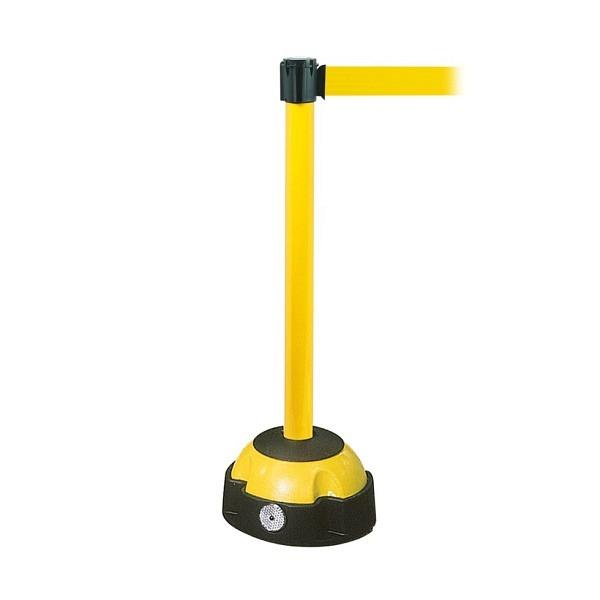MORION Gurt-Warnständer Gelb lackiert, Gurtfarbe gelb