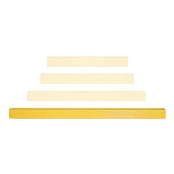 MORION Rammschutz-Geländer XL-Line Querbalken, gelb