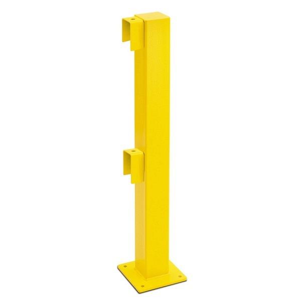 MORION Rammschutz-Geländer XL-Line Standpfosten, gelb