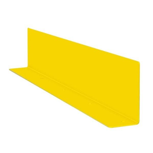 MORION Unterfahrschutz, Stahlwinkel Gelb kunststoffbeschichtet