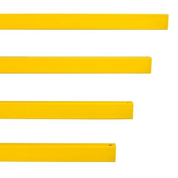 MORION Rammschutz-Geländer S-Line Querbalken, gelb