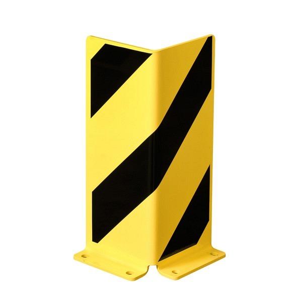 MORION-Anfahrschutz Winkel Gelb mit schwarzen Streifen