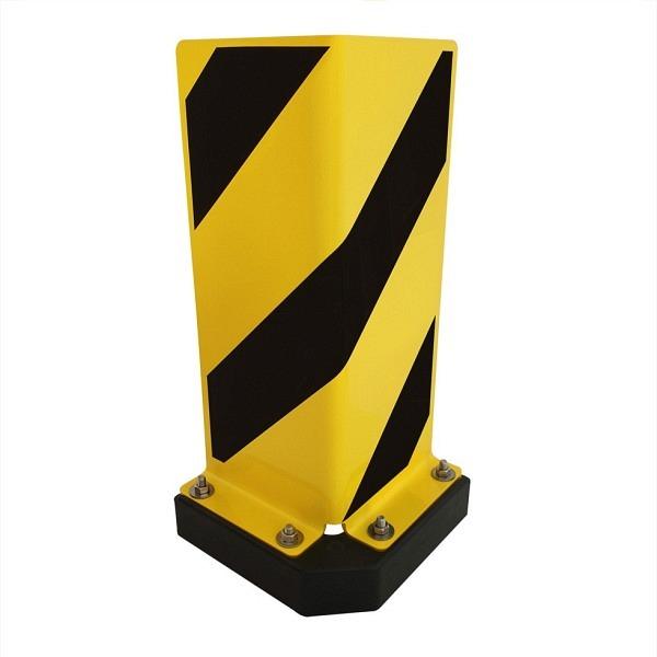 BLACK BULL Anfahrschutz WINKEL SWING 400 gelb beschichtet mit schwarzen Streifen