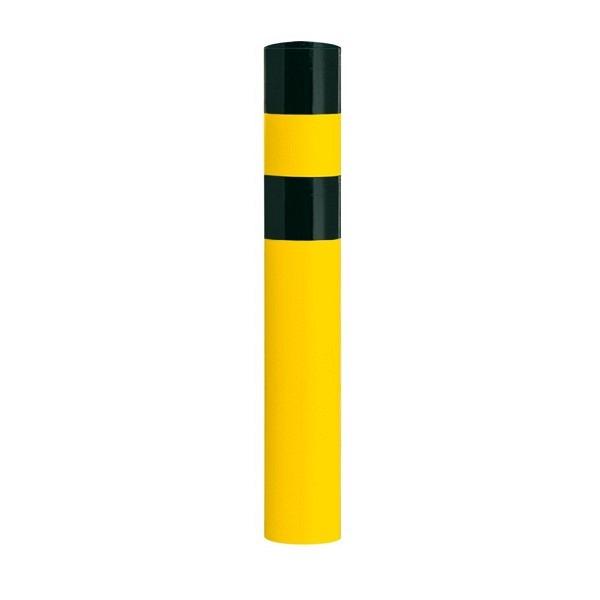 BLACK BULL Rammschutz-Poller Gelb-schwarz