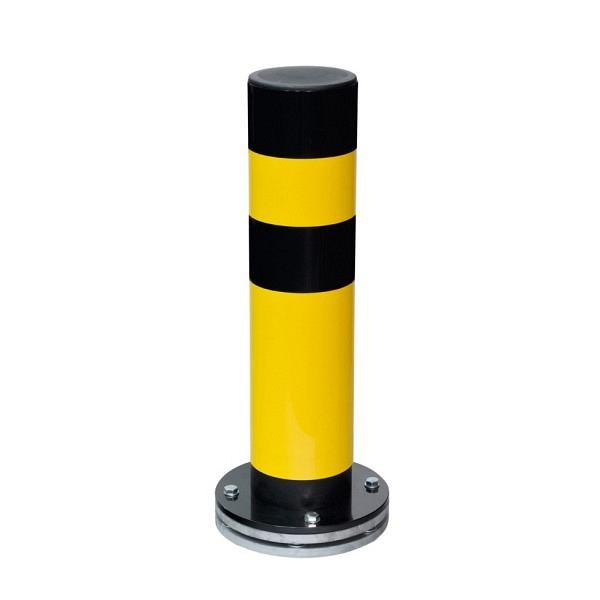 BLACK BULL Rammschutz-Poller SWING drehbar, gelb-schwarz