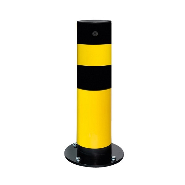 BLACK BULL Rammschutz-Poller SWING Gelb-schwarz