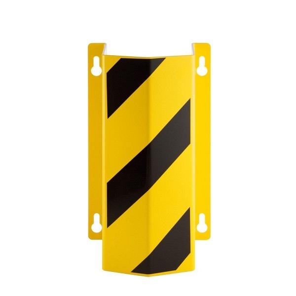 MORION-Rohrschutz, Wandmontage Gelb mit schwarzen Streifen