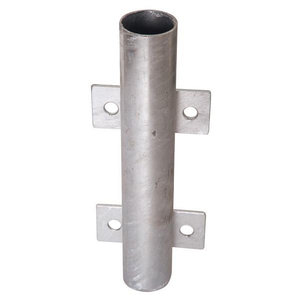 Einsteckhülse verzinkt (ein Stück) Höhe 300 mm, Gesamtbreite 120 mm