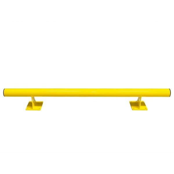 BLACK BULL Rammschutz-Barriere Ø 76 mm Gelb kunststoffbeschichtet