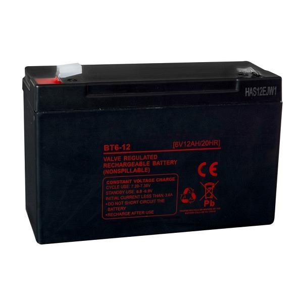 Ersatzakku 6 Volt Für Sperrschranke mit Solarmodul inkl.