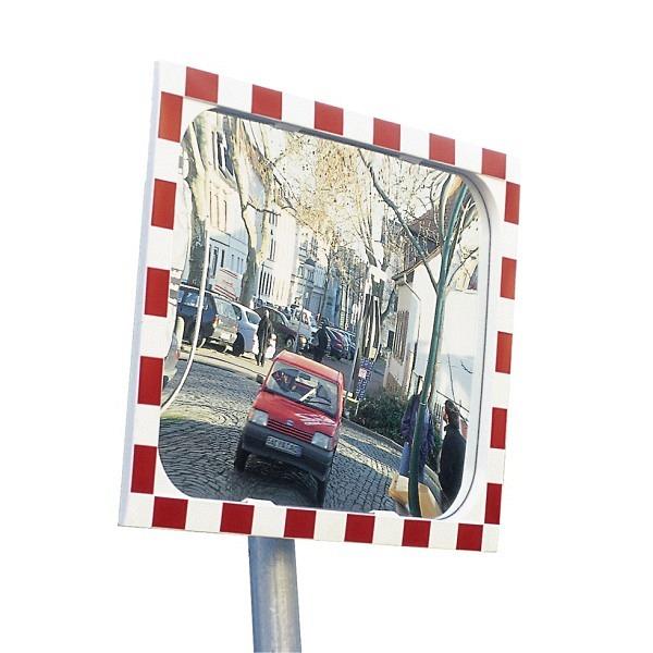 Verkehrs- und Beobachtungsspiegel DIAMOND, rot-weiss