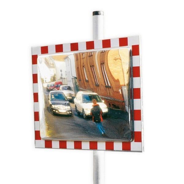 Verkehrs- und Beobachtungsspiegel DURABEL, rot-weiss