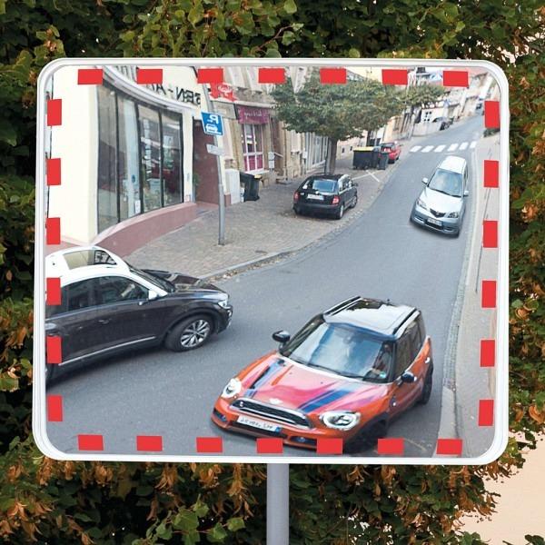 Verkehrs- und Beobachtungsspiegel EUCRYL ECO, Rahmenlos