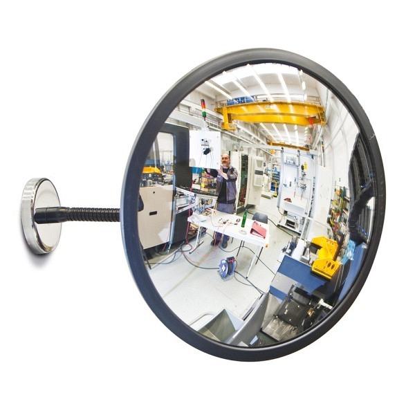 Beobachtungsspiegel DETEKTIV, aus Acrylglas, Magnethalterung