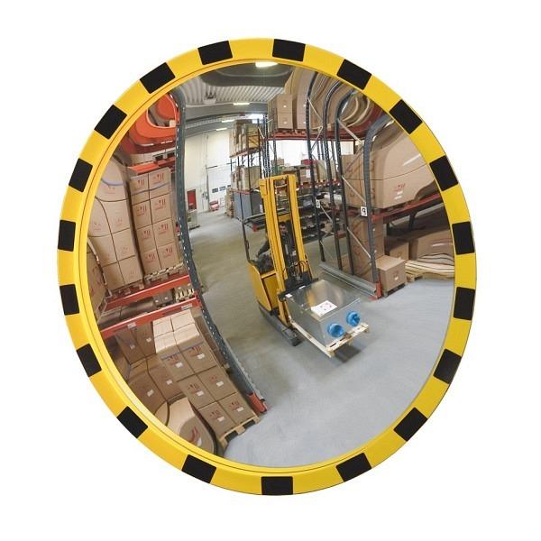Industriespiegel EUCRYL, gelb-schwarz