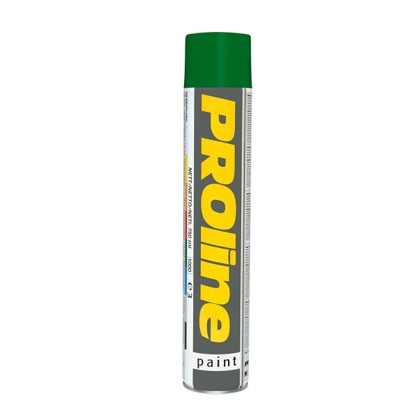 PROline Verkehrsfarbe grün RAL 6024 Linienmarkierfarbe, Grossdose à 750 ml