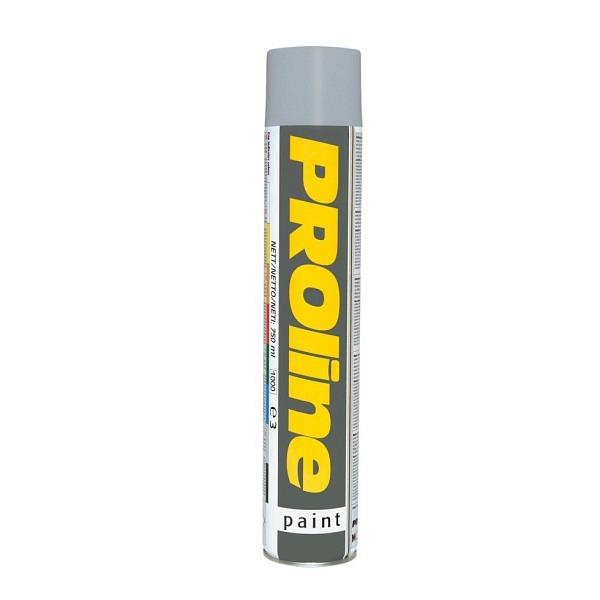 PROline Verkehrsfarbe grau RAL 7042 Linienmarkierfarbe, Grossdose à 750 ml