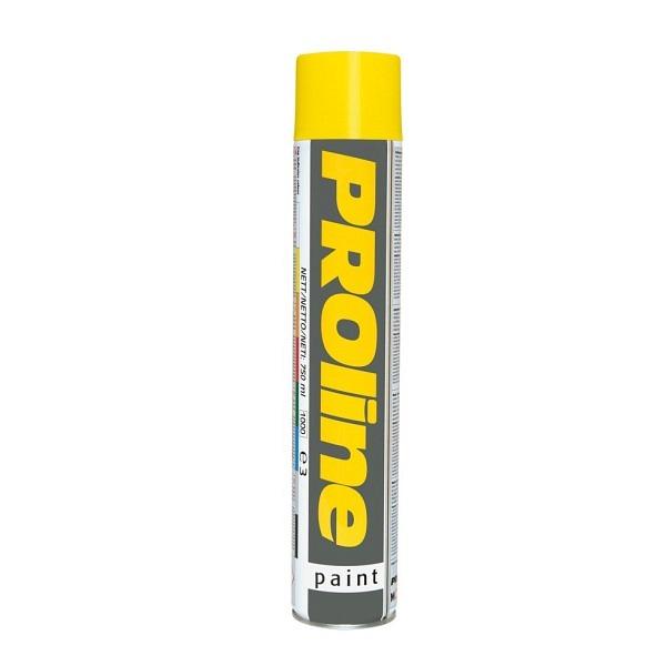 PROline Verkehrsfarbe gelb RAL 1023 Linienmarkierfarbe, Grossdose à 750 ml