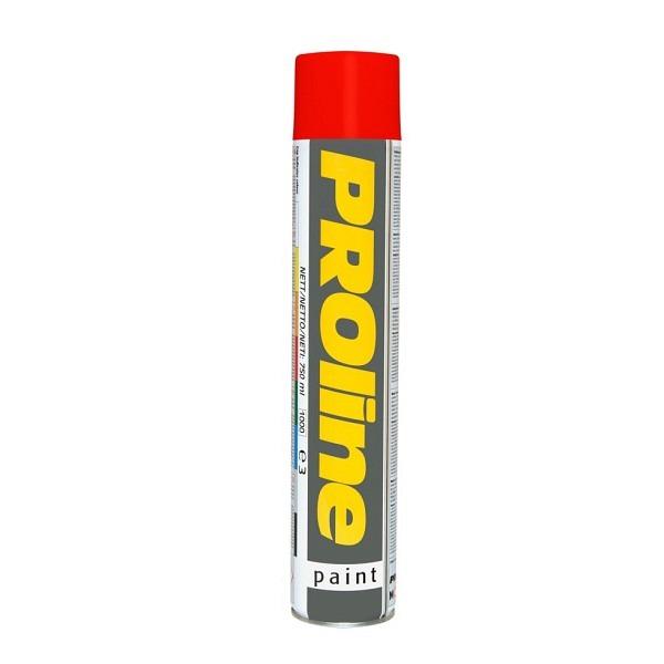 PROline Verkehrsfarbe rot RAL 3020 Linienmarkierfarbe, Grossdose à 750 ml
