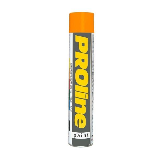 PROline Verkehrsfarbe orange RAL 2009 Linienmarkierfarbe, Grossdose à 750 ml