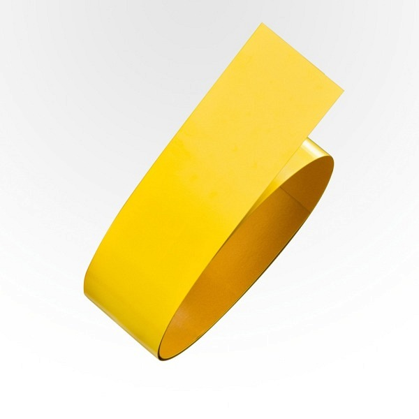 PROline Bodenmarkierband Stahl Gelb