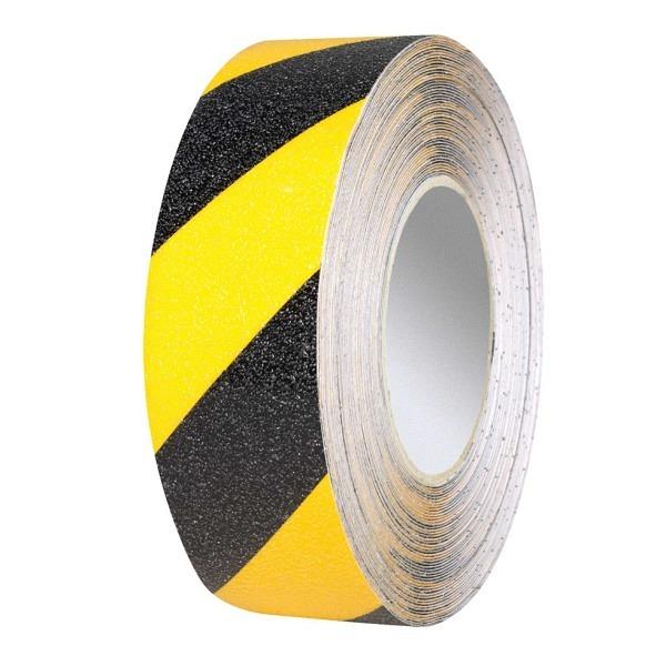 PROline Bodenmarkierband Vinyl gelb-schwarz