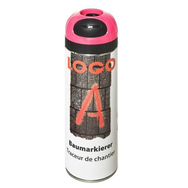 LOGO - A Baumarkierer à 500 ml Grossdose Farbe pink