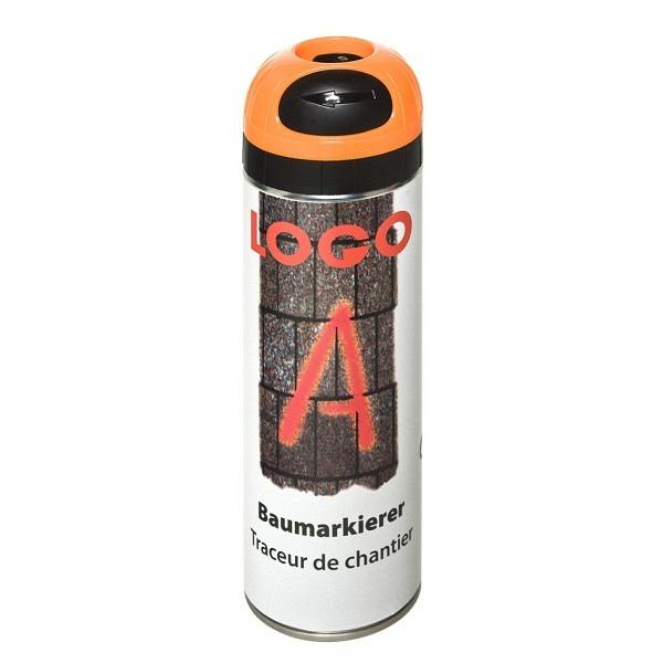 LOGO - A Baumarkierer à 500 ml Grossdose Farbe orange
