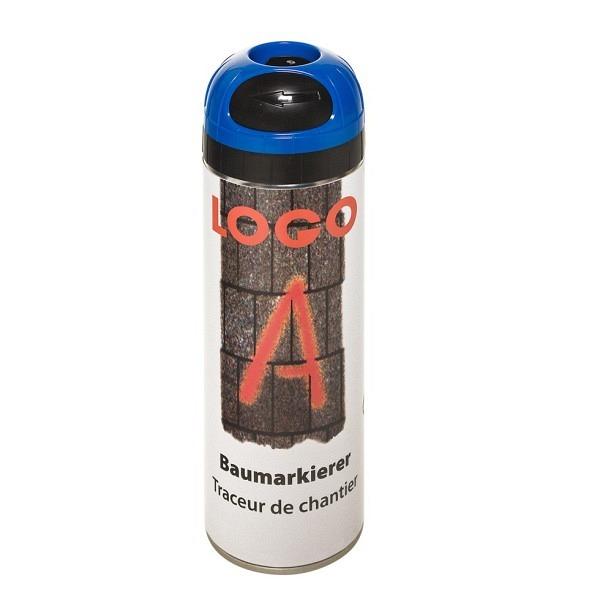 LOGO - A Baumarkierer à 500 ml Grossdose Farbe blau