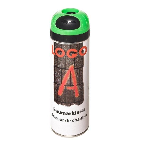 LOGO - A Baumarkierer à 500 ml Grossdose Farbe grün