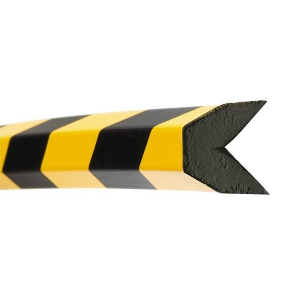 MORION Prallschutz, 1 m Länge Kantenschutz, schwarz gelb