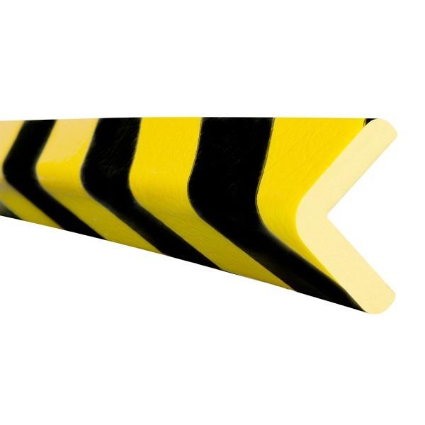 MORION Prallschutz, 5 m Länge Kantenschutz, schwarz gelb