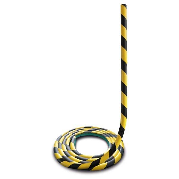 MORION Prallschutz, 5 m Länge Profilschutz, schwarz gelb